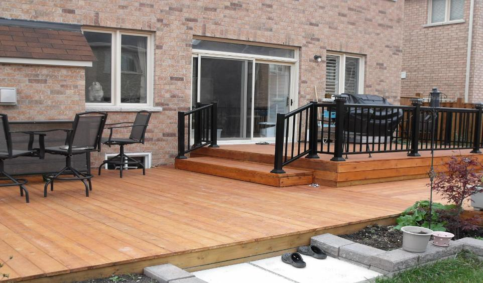 Home of aluminum deck railings awnings and porch